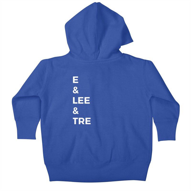 Eric Washington x The Elite Podcast - The Cast #1 Kids Baby Zip-Up Hoody by Eric Washington's Merch Shop