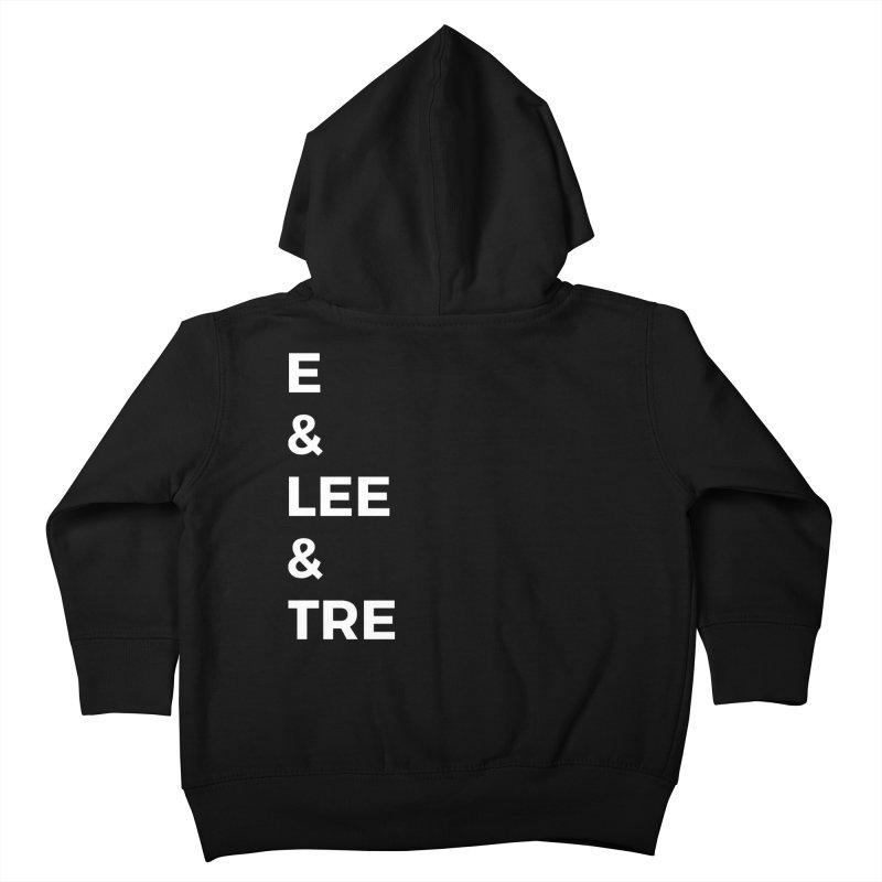 Eric Washington x The Elite Podcast - The Cast #1 Kids Toddler Zip-Up Hoody by Eric Washington's Merch Shop