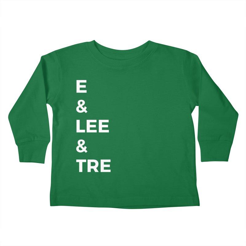 Eric Washington x The Elite Podcast - The Cast #1 Kids Toddler Longsleeve T-Shirt by Eric Washington's Merch Shop