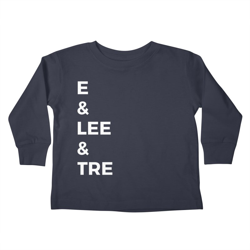 Eric Washington x The Elite Podcast - The Cast #1 Kids Toddler Longsleeve T-Shirt by Eric Washington's Merch Shop