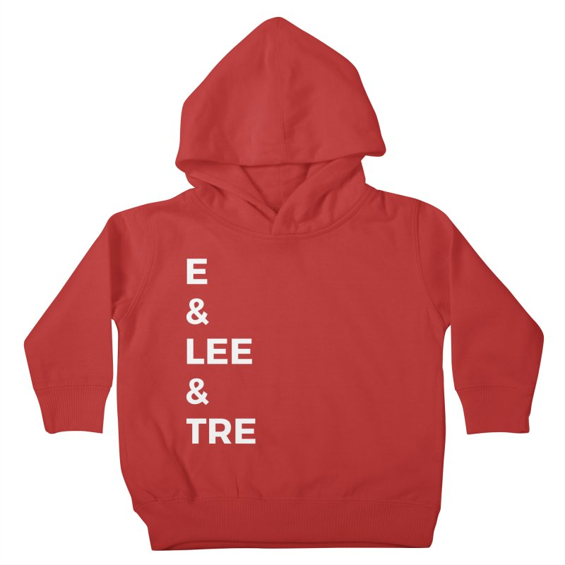 Eric Washington x The Elite Podcast - The Cast #1 Kids Toddler Pullover Hoody by Eric Washington's Merch Shop