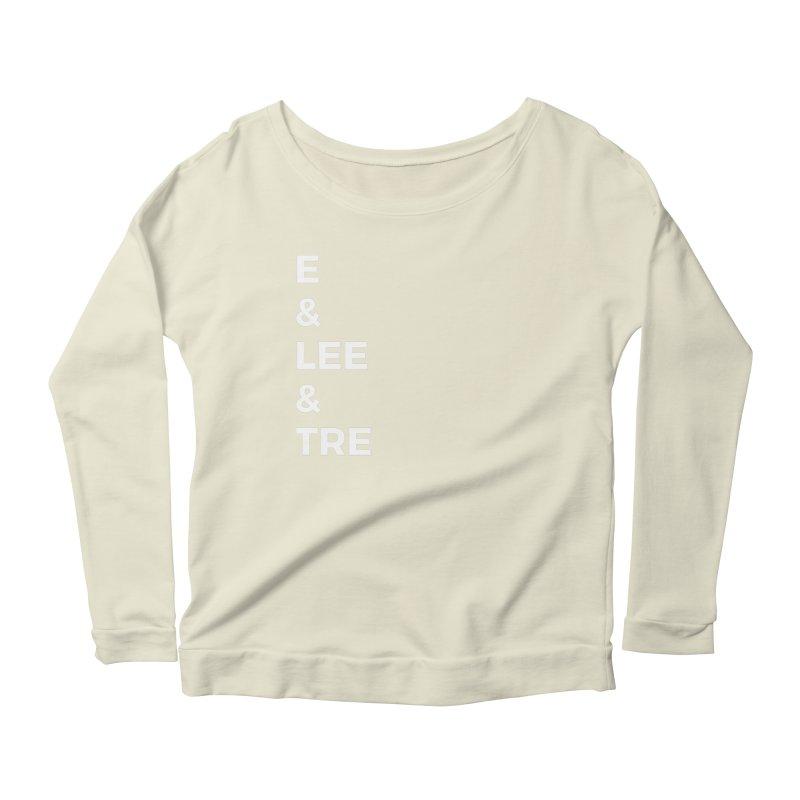 Eric Washington x The Elite Podcast - The Cast #1 Women's Scoop Neck Longsleeve T-Shirt by Eric Washington's Merch Shop