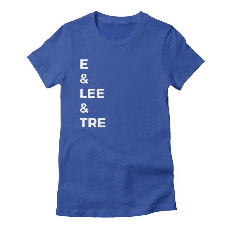 Eric Washington x The Elite Podcast - The Cast #1 Women's Fitted T-Shirt by Eric Washington's Merch Shop