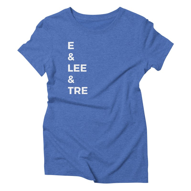 Eric Washington x The Elite Podcast - The Cast #1 Women's Triblend T-Shirt by Eric Washington's Merch Shop