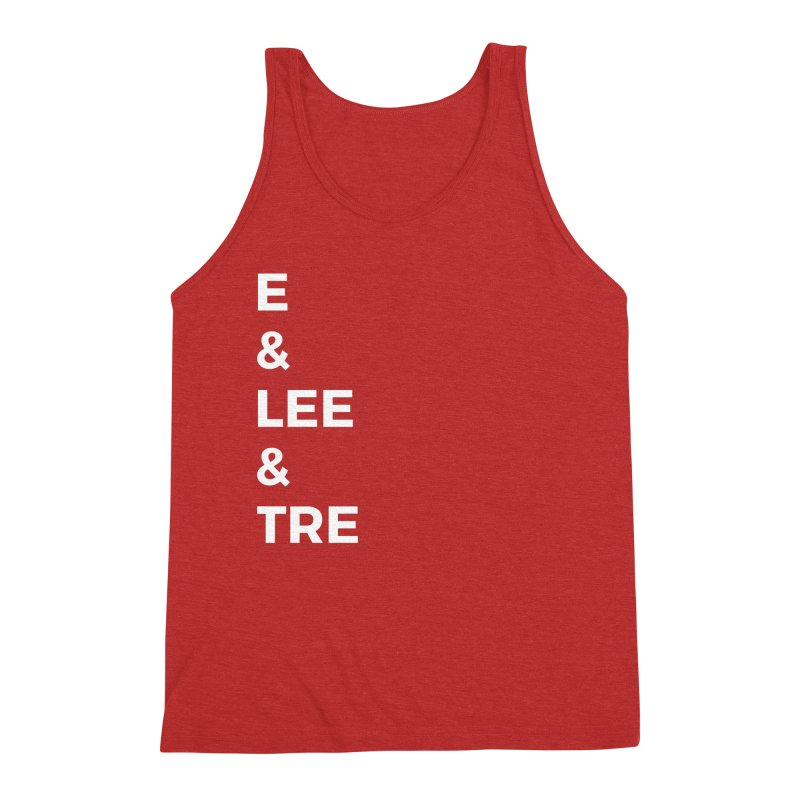 Eric Washington x The Elite Podcast - The Cast #1 Men's Triblend Tank by Eric Washington's Merch Shop