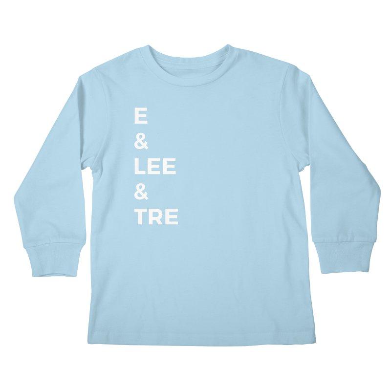 Eric Washington x The Elite Podcast - The Cast #1 Kids Longsleeve T-Shirt by Eric Washington's Merch Shop