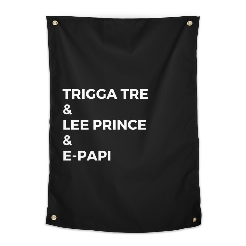 Eric Washington x The Elite Podcast - The Cast #2 Home Tapestry by Eric Washington's Merch Shop