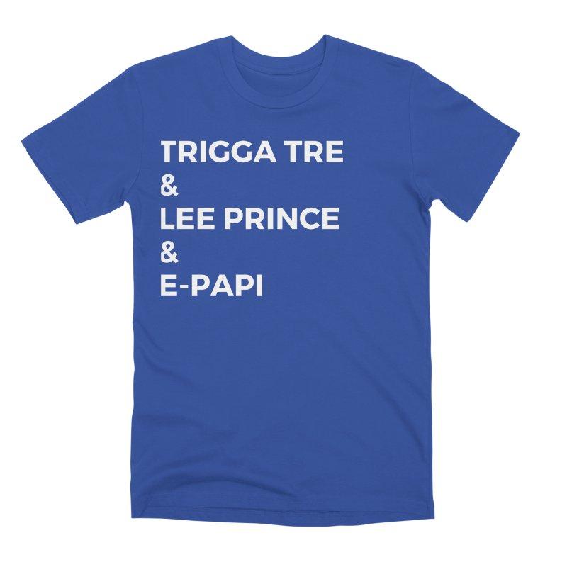 Eric Washington x The Elite Podcast - The Cast #2 Men's Premium T-Shirt by Eric Washington's Merch Shop