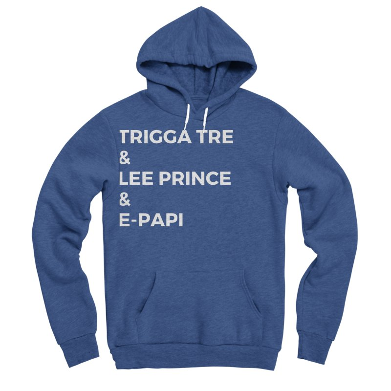 Eric Washington x The Elite Podcast - The Cast #2 Men's Sponge Fleece Pullover Hoody by Eric Washington's Merch Shop