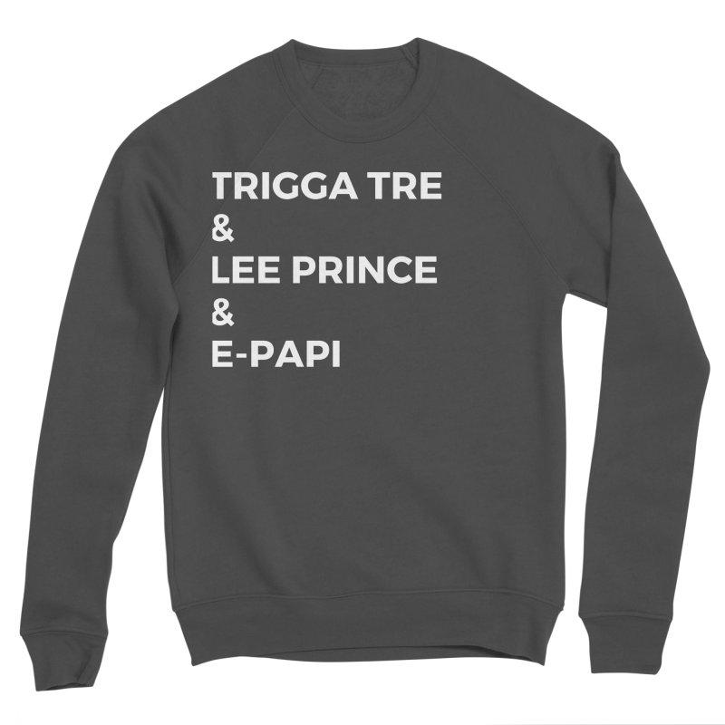 Eric Washington x The Elite Podcast - The Cast #2 Men's Sponge Fleece Sweatshirt by Eric Washington's Merch Shop