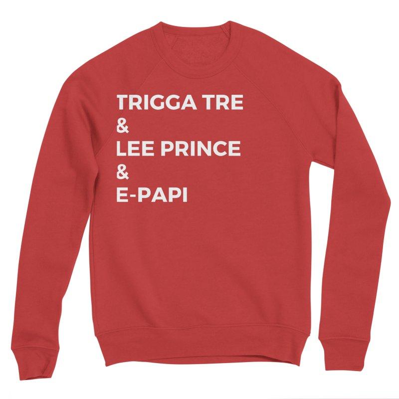 Eric Washington x The Elite Podcast - The Cast #2 Women's Sponge Fleece Sweatshirt by Eric Washington's Merch Shop