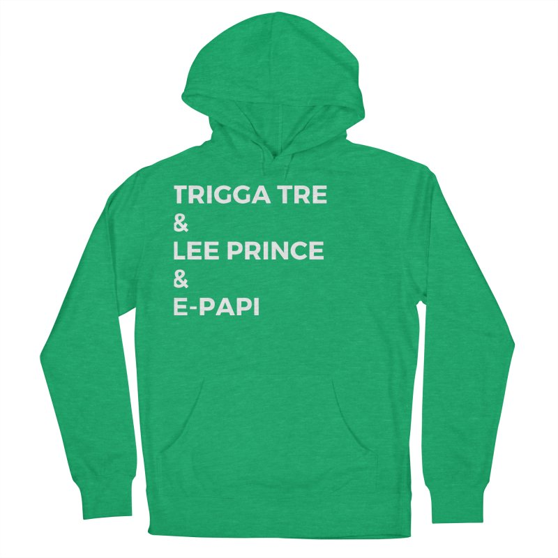 Eric Washington x The Elite Podcast - The Cast #2 Women's French Terry Pullover Hoody by Eric Washington's Merch Shop