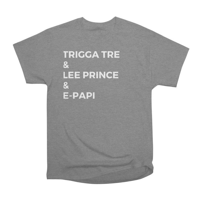 Eric Washington x The Elite Podcast - The Cast #2 Men's Heavyweight T-Shirt by Eric Washington's Merch Shop
