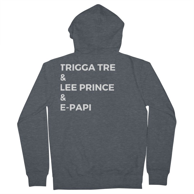 Eric Washington x The Elite Podcast - The Cast #2 Women's French Terry Zip-Up Hoody by Eric Washington's Merch Shop