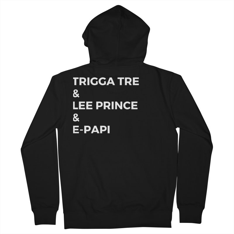 Eric Washington x The Elite Podcast - The Cast #2 Men's French Terry Zip-Up Hoody by Eric Washington's Merch Shop