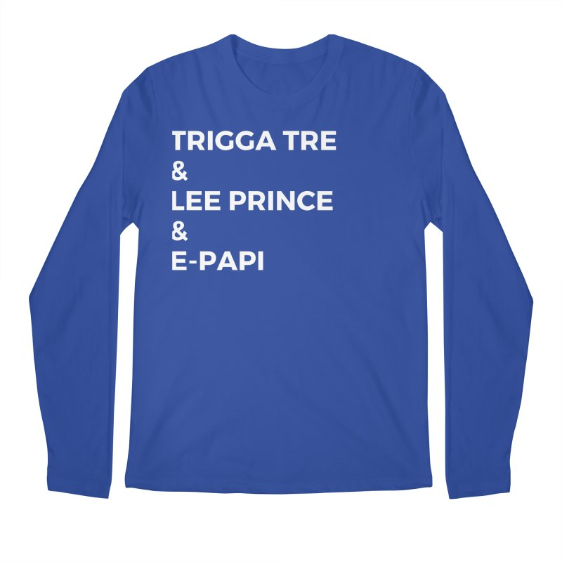Eric Washington x The Elite Podcast - The Cast #2 Men's Regular Longsleeve T-Shirt by Eric Washington's Merch Shop