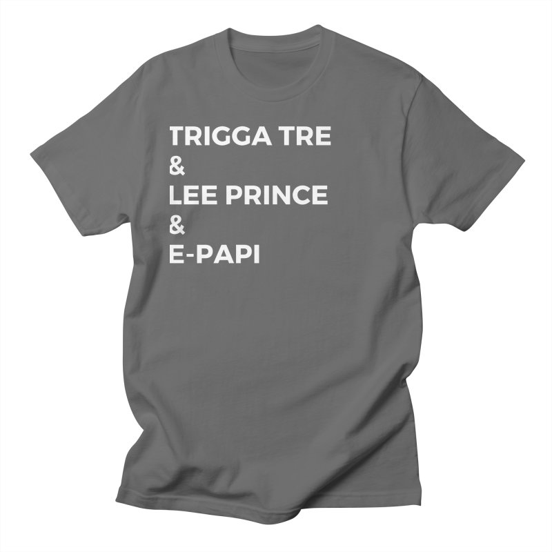 Eric Washington x The Elite Podcast - The Cast #2 Men's T-Shirt by Eric Washington's Merch Shop