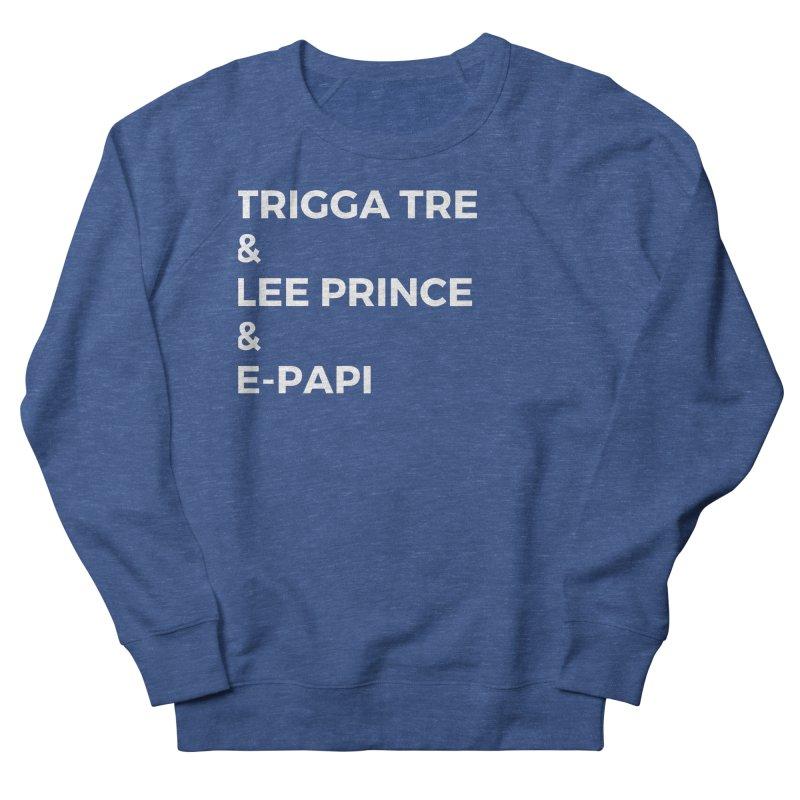 Eric Washington x The Elite Podcast - The Cast #2 Men's French Terry Sweatshirt by Eric Washington's Merch Shop
