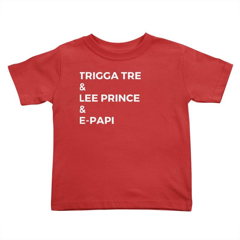 Eric Washington x The Elite Podcast - The Cast #2 Kids Toddler T-Shirt by Eric Washington's Merch Shop