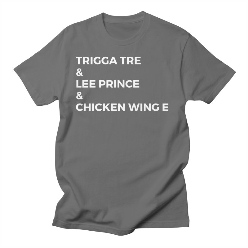 Eric Washington x The Elite Podcast - The Cast #3 Men's T-Shirt by Eric Washington's Merch Shop