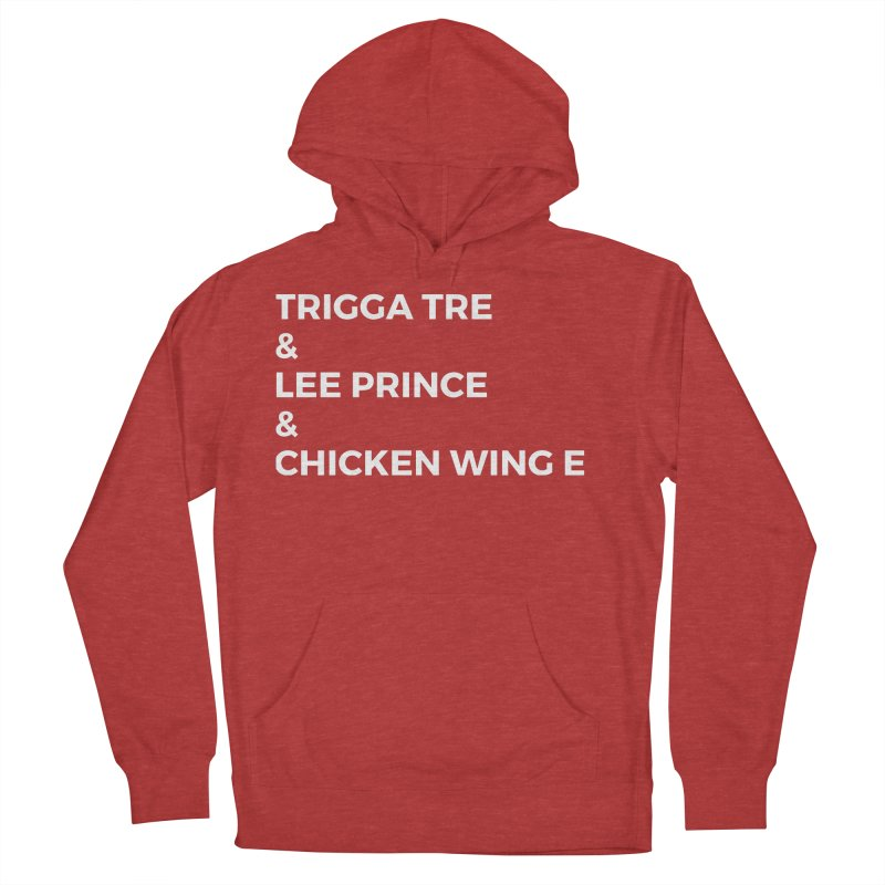 Eric Washington x The Elite Podcast - The Cast #3 Men's French Terry Pullover Hoody by Eric Washington's Merch Shop
