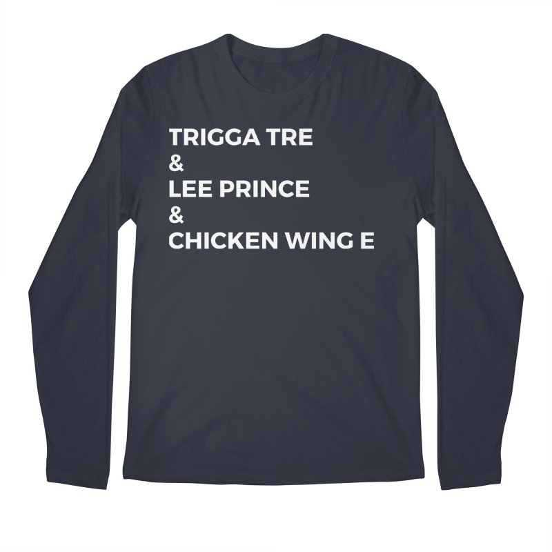 Eric Washington x The Elite Podcast - The Cast #3 Men's Regular Longsleeve T-Shirt by Eric Washington's Merch Shop