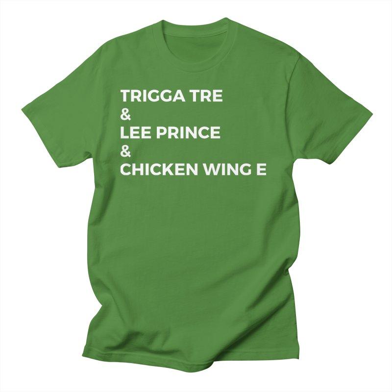 Eric Washington x The Elite Podcast - The Cast #3 Women's Regular Unisex T-Shirt by Eric Washington's Merch Shop