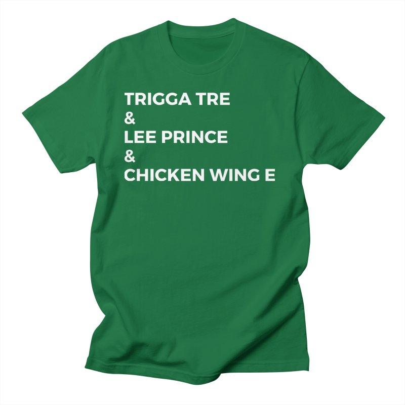 Eric Washington x The Elite Podcast - The Cast #3 Men's Regular T-Shirt by Eric Washington's Merch Shop