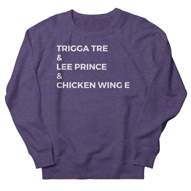 Eric Washington x The Elite Podcast - The Cast #3 Men's French Terry Sweatshirt by Eric Washington's Merch Shop