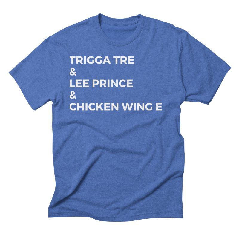 Eric Washington x The Elite Podcast - The Cast #3 Men's Triblend T-Shirt by Eric Washington's Merch Shop