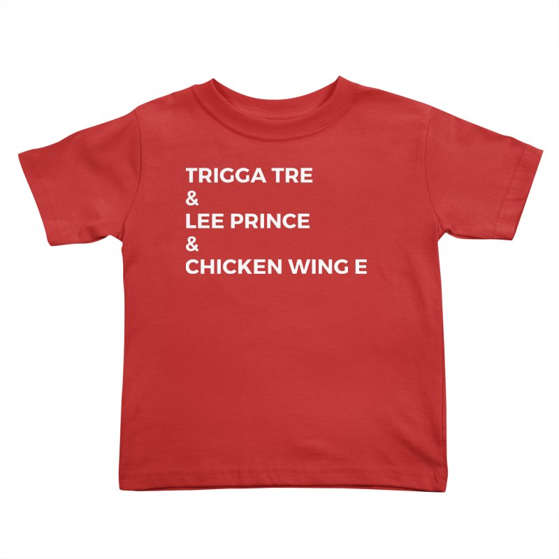 Eric Washington x The Elite Podcast - The Cast #3 Kids Toddler T-Shirt by Eric Washington's Merch Shop