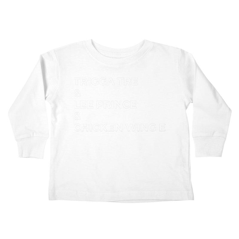 Eric Washington x The Elite Podcast - The Cast #3 Kids Toddler Longsleeve T-Shirt by Eric Washington's Merch Shop