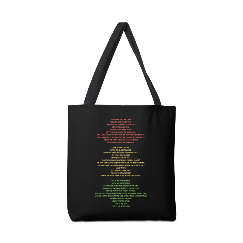 Lift Every Voice Accessories Tote Bag Bag by Eric Washington's Merch Shop
