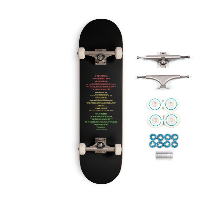 Lift Every Voice Accessories Complete - Basic Skateboard by Eric Washington's Merch Shop