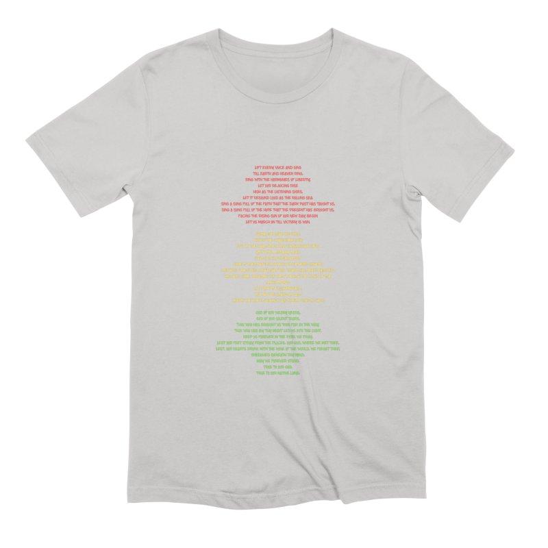 Lift Every Voice Men's Extra Soft T-Shirt by Eric Washington's Merch Shop