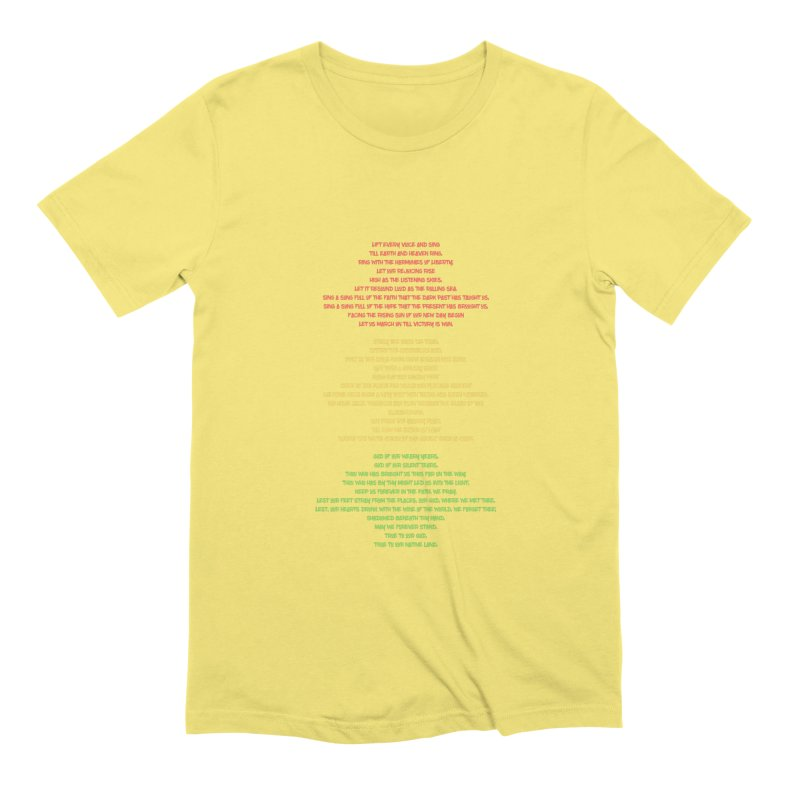 Lift Every Voice Men's Extra Soft T-Shirt by Eric Washington's Merch Shop