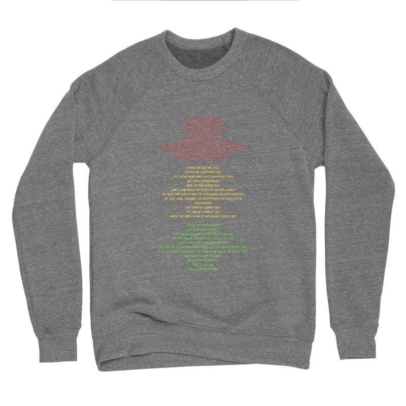 Lift Every Voice Women's Sponge Fleece Sweatshirt by Eric Washington's Merch Shop