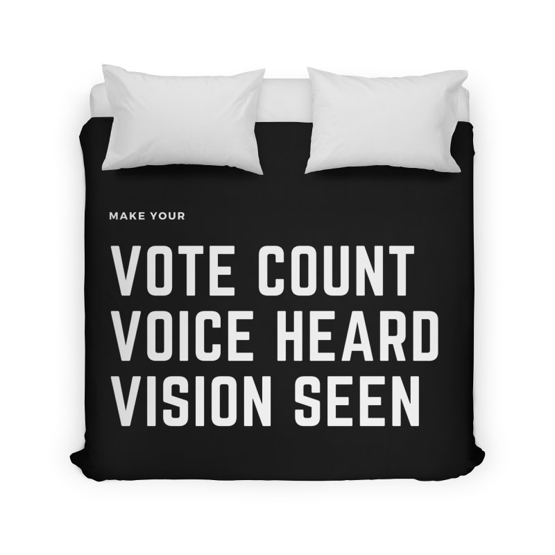 Be Known Home Duvet by Eric Washington's Merch Shop