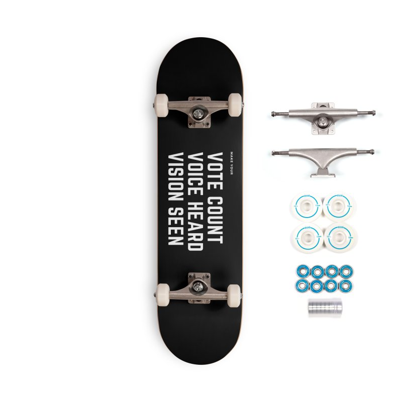 Be Known Accessories Complete - Basic Skateboard by Eric Washington's Merch Shop