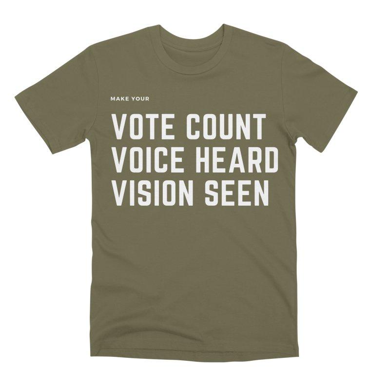 Be Known Men's Premium T-Shirt by Eric Washington's Merch Shop