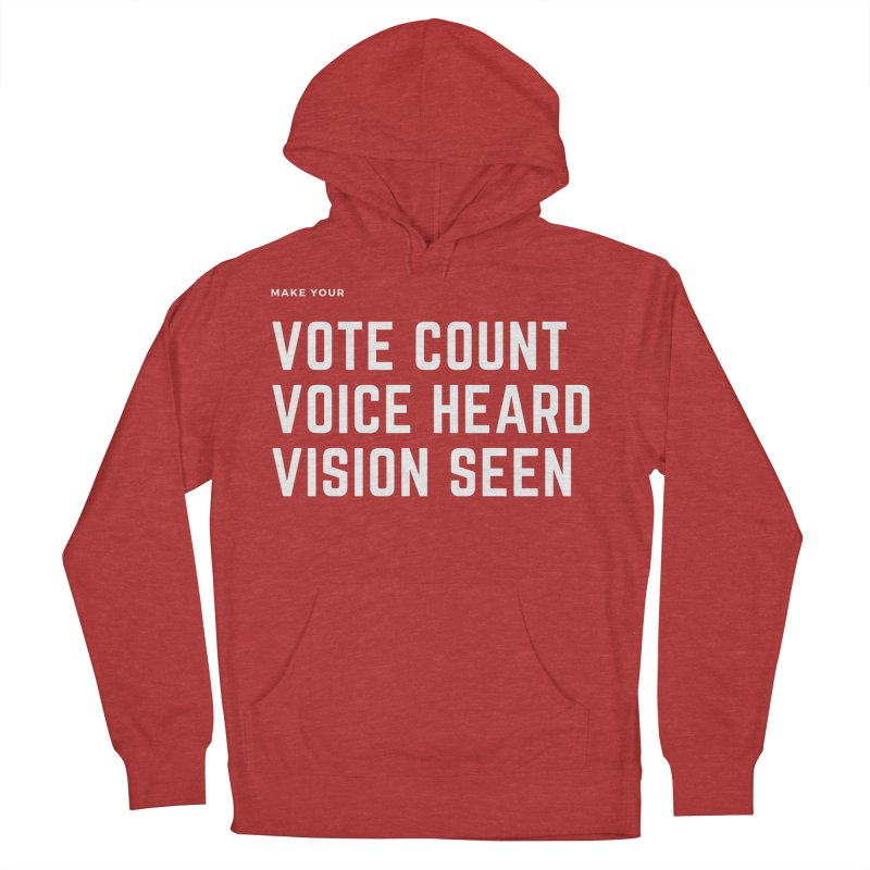 Be Known Women's French Terry Pullover Hoody by Eric Washington's Merch Shop