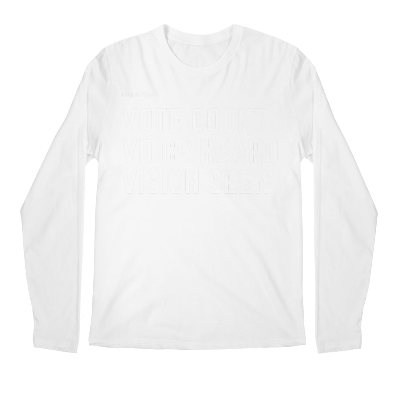 Be Known Men's Regular Longsleeve T-Shirt by Eric Washington's Merch Shop