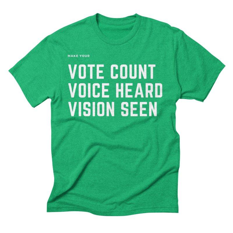 Be Known Men's Triblend T-Shirt by Eric Washington's Merch Shop
