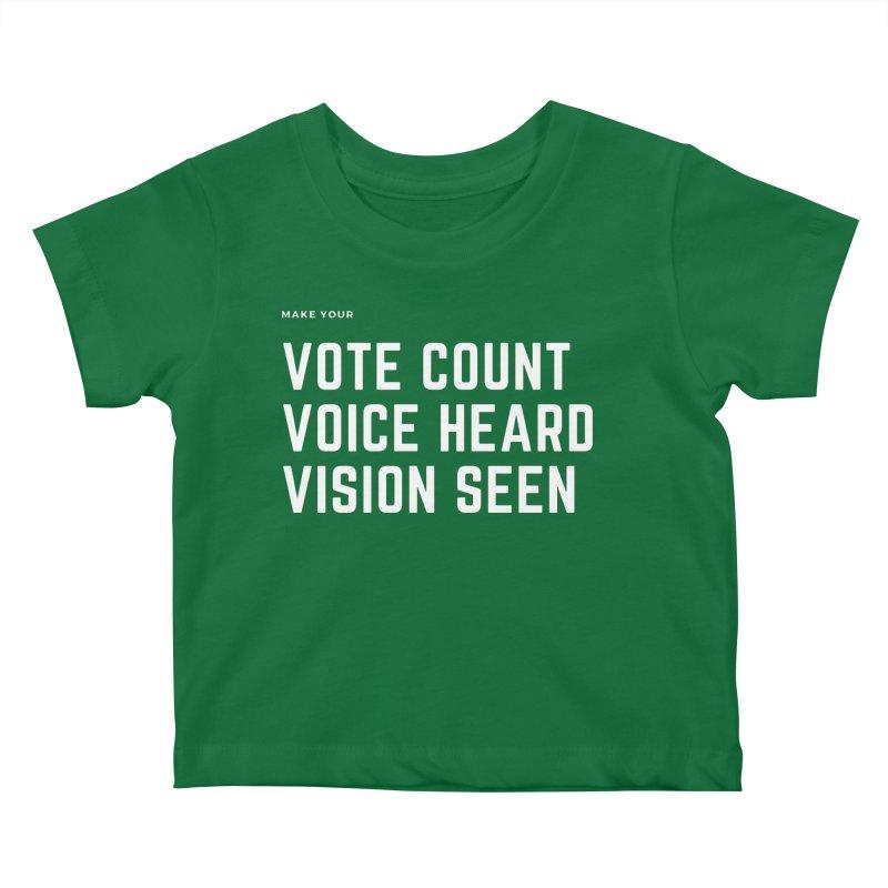 Be Known Kids Baby T-Shirt by Eric Washington's Merch Shop
