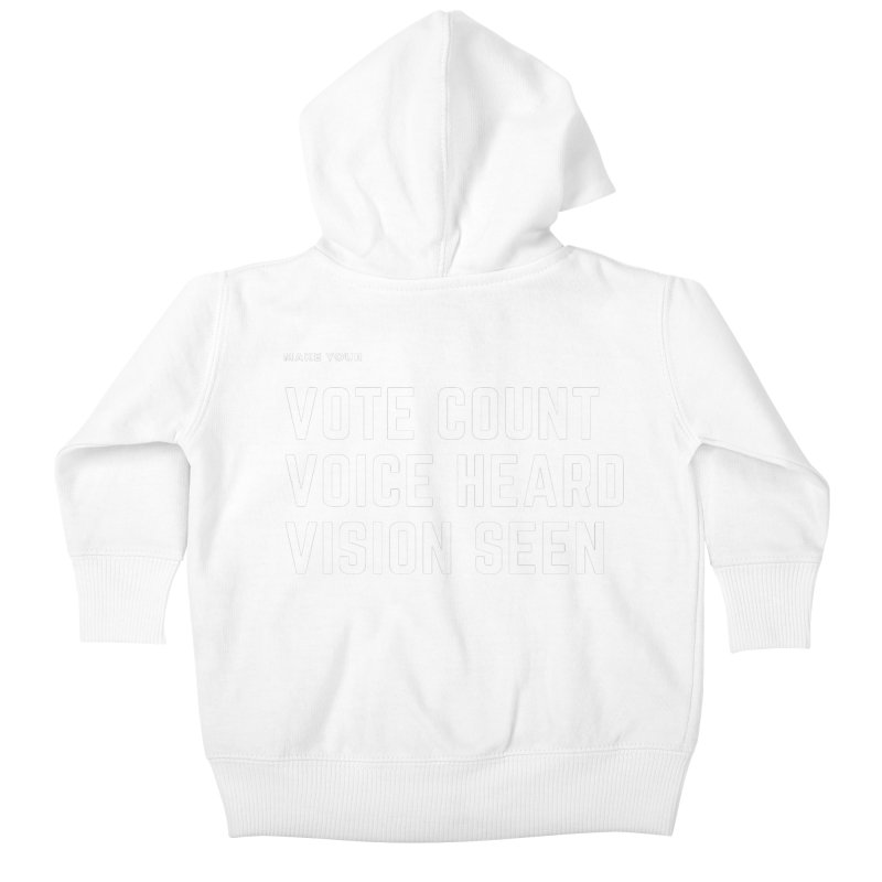 Be Known Kids Baby Zip-Up Hoody by Eric Washington's Merch Shop