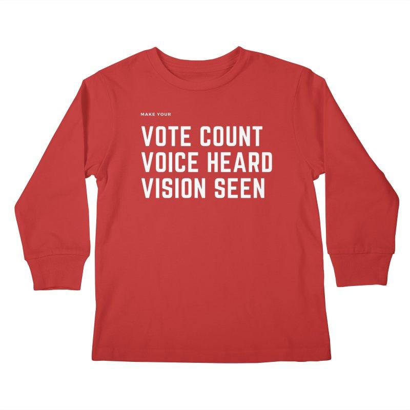 Be Known Kids Longsleeve T-Shirt by Eric Washington's Merch Shop