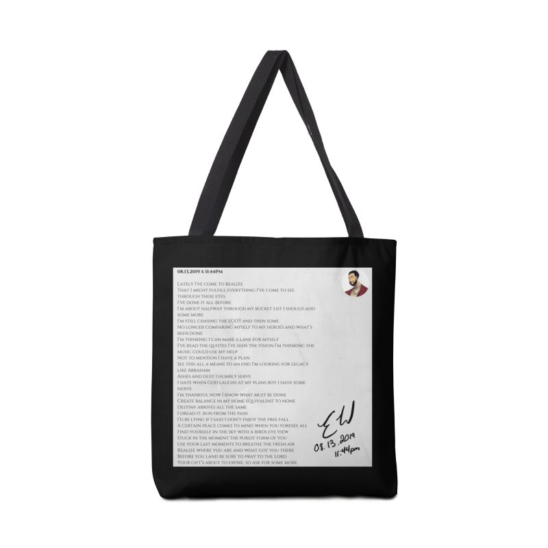 08.13.2019 x 11:44PM Accessories Tote Bag Bag by Eric Washington's Merch Shop