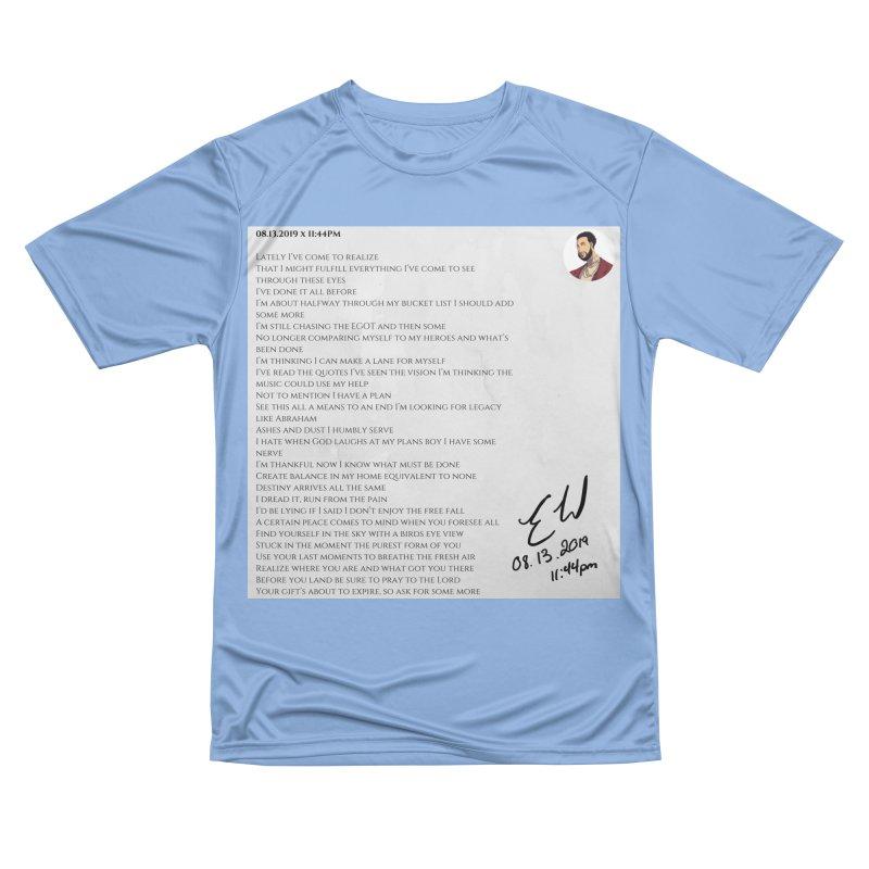 08.13.2019 x 11:44PM Women's T-Shirt by Eric Washington's Merch Shop