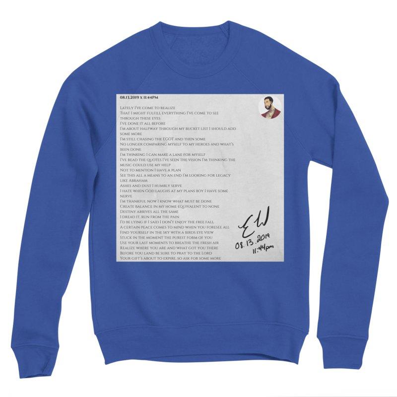08.13.2019 x 11:44PM Women's Sweatshirt by Eric Washington's Merch Shop