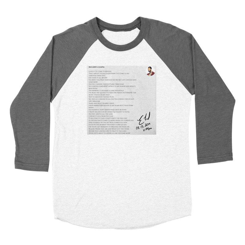 08.13.2019 x 11:44PM Women's Longsleeve T-Shirt by Eric Washington's Merch Shop